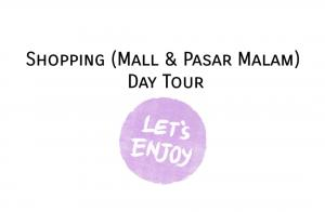 Shopping (Mall & Pasar Malam) Day Tour